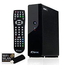 "FANTEC MM-FHDL+WiFi černý externí MediaPlayer USB+WIFI+LAN RJ45 box na 3.5"" SATA HDD, black, FULL HD 1080P, HDMI 1.3, MKV, H.264"
