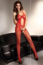LivCo Corsetti Magali red Bodystocking