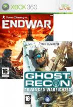 Ghost Recon AW + End War Double Pack (Xbox 360)