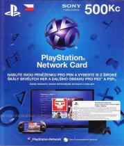 Sony PlayStation 3 - Network Card 500CZK (PS3)