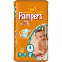 Pampers Sleep & play 4 maxi 50 ks