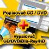 PS MEDIA s.r.o. Vypalovač CD DVD Blu-ray HD-DVD + CD - DVD popisovač