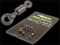 Korda Ring Swivels 8ks vel. 8