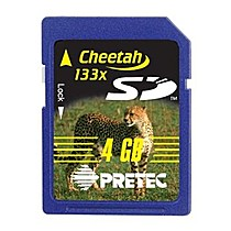Pretec 4.0GB Secure Digital Cheetah