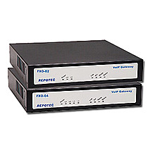 Repotec VoIP Gateway 2xFXS+2xFXO, 1x100Base-TX