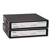 Repotec VoIP Gateway 4xFXO, 1x100Base-TX
