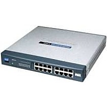Linksys Cisco GigaSwitch 16x10/100/1000, Lifetime w