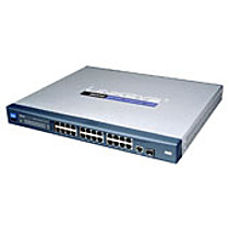 Linksys Cisco Switch  24x10/100+1xGE+1xMiniGBIC