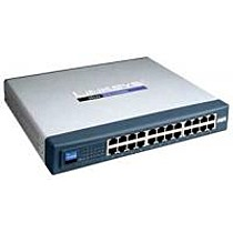 Linksys-Cisco SR224 (24x10/100 Lifetime war.)