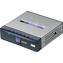 Linksys SD205, 5-Port 10/100,desktop,kov,LT