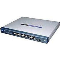 Linksys-Cisco 24x10/ 100/ 1000,2xMiniGBIC