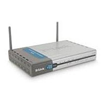 D-Link DI-714P+ Wireless DSL Internet Gateway, 22Mbit AP 4x1