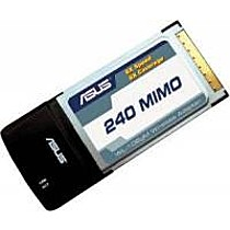 ASUS WL-106gM 240MIMO WiFi PCMCIA klient 240 Mb/s