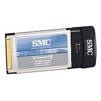SMC EZ Connect-G 108Mbps Wireless 802.11g PC Card