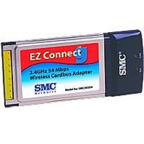 SMC EZ Connect-G Wireless 802.11g PC Card