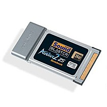 Creative SB Audigy II ZS Notebook,  PCMCIA