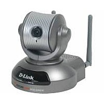 D-Link 22Mbps Wireless Internet / Security Camera w/ Pan & Tilt