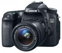 Canon EOS 70D + 18-55 mm IS STM