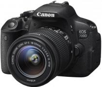 Canon EOS 700D + 18-55 mm IS STM