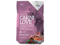 BRIT CARNILOVE Cat Chicken and Salmon 1,5kg