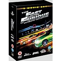 Rychle a zběsile: Kolekce (3 DVD)  (The Fast and the Furious Ultimate Collection)
