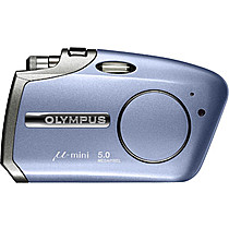 Olympus Mju Mini Digital S - modrý