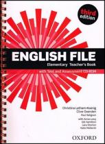 OUP English Learning and Teaching English File Elementary Teacher´s Book with Test and Assessment CD-ROM