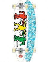 Alien Workshop Haring Link Up White