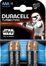 DURACELL - Stat Wars Turbo MAX 4 x AAA