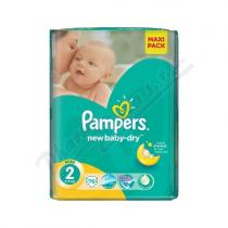 Pampers New Baby Mini 3-6kg 76 ks