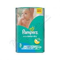 Pampers Active Baby VPP Midi 4-9kg 68 ks