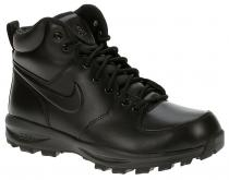 Nike Manoa Leather Black Black Black