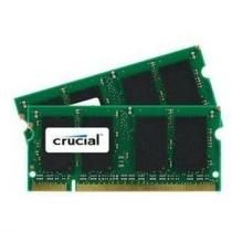 Crucial SO-DIMM 4GB KIT DDR2 667MHz CL5 CT2KIT25664AC667