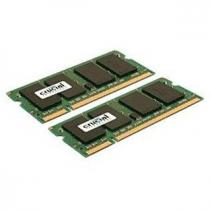 Crucial SO-DIMM 8GB KIT DDR2 800MHz CL6 CT2KIT51264AC800