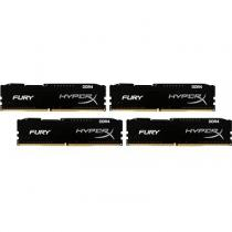 Kingston 64GB KIT DDR4 2400MHz CL15 Kingston HyperX Fury Black Series (HX424C15FBK4/64)