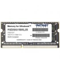 Patriot SO-DIMM 4GB DDR3 1600MHz CL11 Ultrabook Line (PSD34G1600L2S)