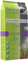 Nativia Senior Light 3kg