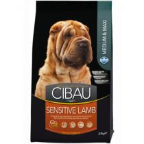 CIBAU Dog Adult Sensitive Lamb Rice 12kg