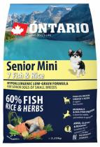 Ontario Senior Mini Fish Rice 2,25kg