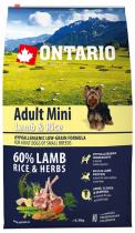 Ontario Adult Mini Lamb Rice 6,5kg