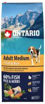 Ontario Adult Medium Fish Rice 12kg