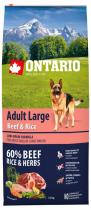 Ontario Adult Large Beef Rice12kg