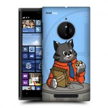 Pouzdro Head Case Cookie Cat Animals Breaktime pro Nokia Lumia 830