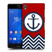 Pouzdro Head Case Anchor Nautical Chevron pro Sony Xperia Z3
