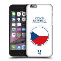 Pouzdro HeadCase Flag Of Czech Republic Flag Patches pro Huawei Ascend G7