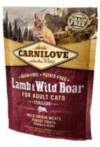 Carnilove Cat Lamb&Wild Boar Adult Sterilised 400g