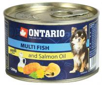 Ontario Mini Multi Fish and Salmon Oil pes 200g
