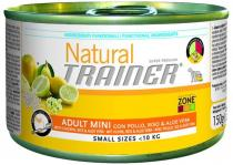 Trainer Natural Adult Mini Chicken Aloe 150g