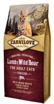 Carnilove Lamb Wild Boar Adult Sterilised 2kg