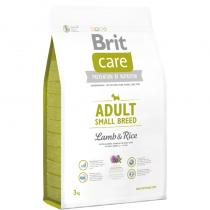 Brit Care Adult Small Breed Lamb Rice 3kg